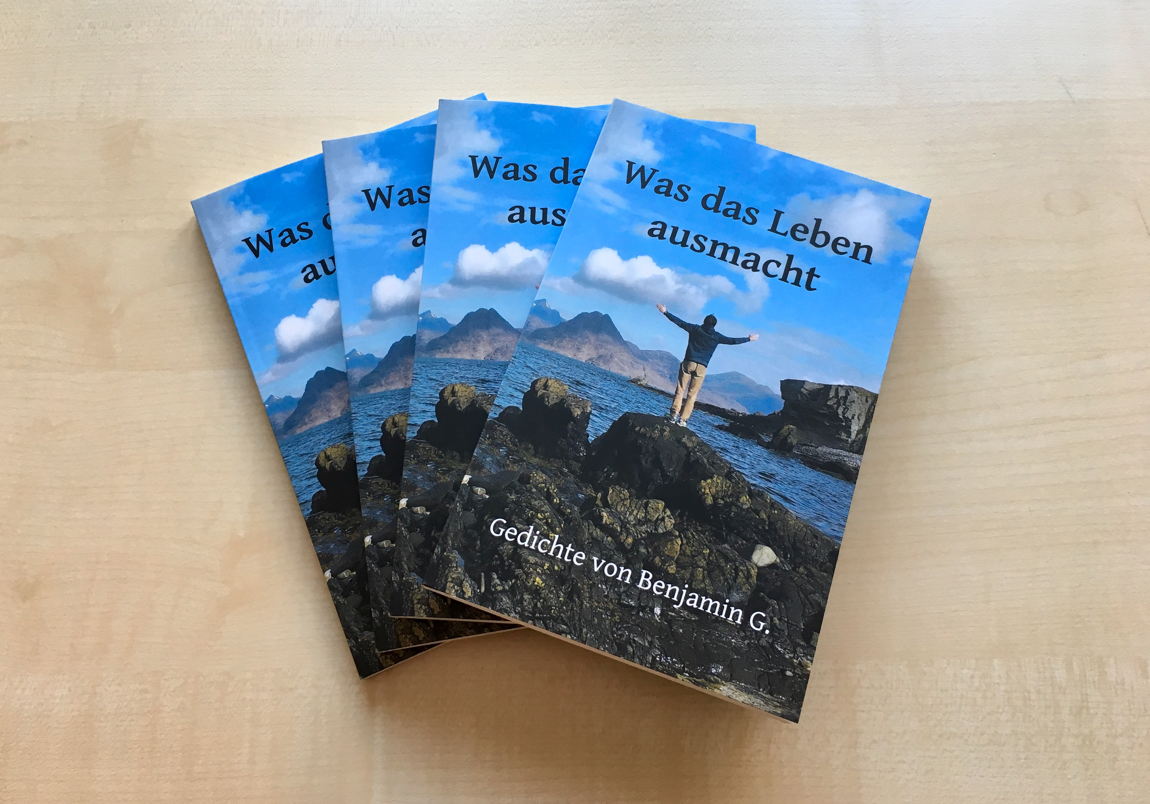 Neues Buch Was Das Leben Ausmacht Gedichte Von Benjamin